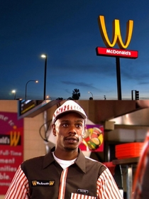 The first person I thought of when McDonalds flipped over the Golden Arches