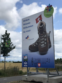 The France people arent welcome at the  day walking event in Nijmegen the Netherlands