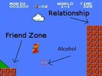 The Friend zoneexplained by Super Mario