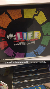 The Game of Life Post College Edition