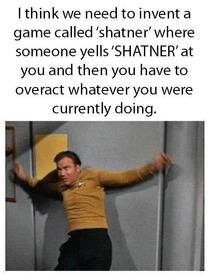 The game of Shatner