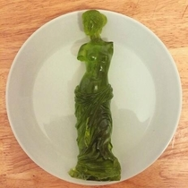 The Gummi Venus de Milo Carved By Gummi Artisans Who Work Exclusively In The Medium Of Gummi