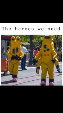 The heroes we need