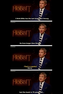 The hobbit interview