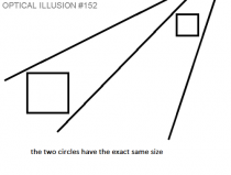 The illusions so good I cant see the circles