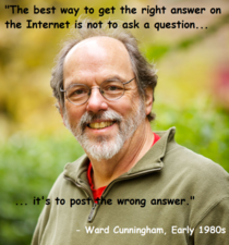The inventor of the wiki cracked Reddits code decades before it was founded