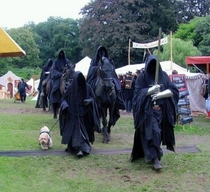 The knights of doomand their dog