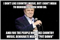 The legendary Bob Newhart on country music