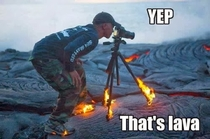 The lengths some photographers go to