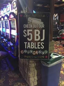 The local casinos idea to drum up some business