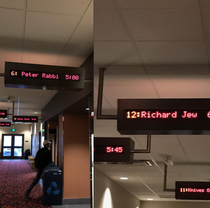 The local movie theater has a strange tendency to be accidentally Jewish