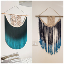 The macrame wall art advertised vs what I actually received
