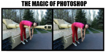 The magic of Photoshop