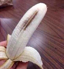 The majority of our generation will put genitals in their mouth but refuse to eat this part of the banana