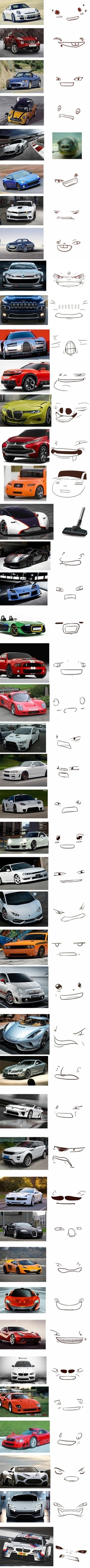 The many faces of cars