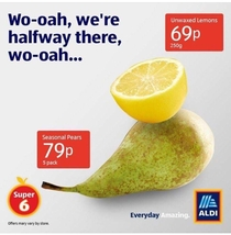 The marketing folks at ALDI are gods