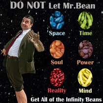 The Marvel Beaniverse MrBean is Collecting all of the Infinity Beans
