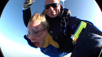 The Moment that my wife decided that skydiving was not her thing