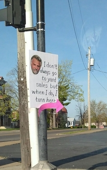 The most interesting yard sale in the world