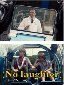 The most realistic scene in Jurassic World