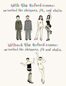 The necessity of the Oxford comma