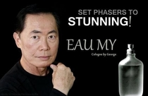 The new fragrance by George Takei