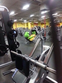 The new year always brings the weirdos out to the gym
