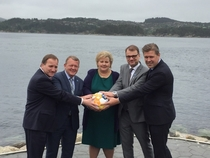 The Nordic prime ministers have a pretty good sense of humour