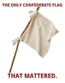 The only Confederate flag that mattered