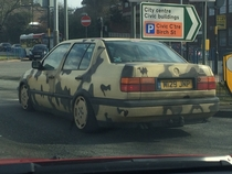 The only thing this car is missing is towbar testicles