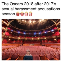 The Oscars  after s sex scandals