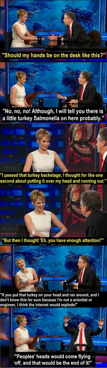 The power amp influence Jennifer Lawrence has over the internet is quite concerning