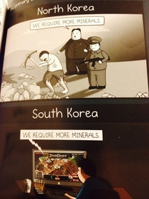 The primary difference between North and South Korea