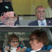 The Queens Horse Winning Face Fixed