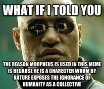 The Real Reason Morpheus Is Used