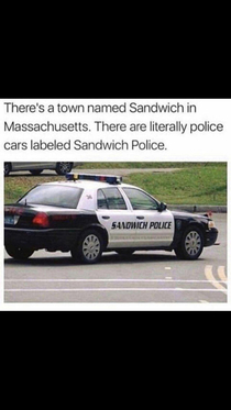 The sandwich police