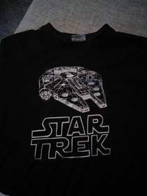 The shirt that will be worn at the next Star Wars movie