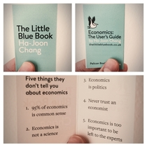 The shortest economics textbook ever