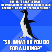 The silence was even more awkward afterwards