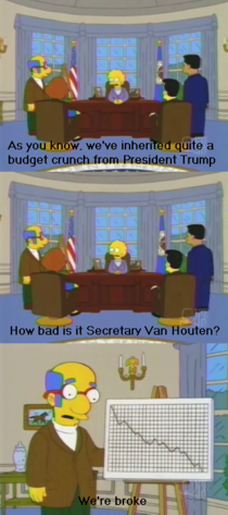 The Simpsons predicted President Trump in