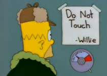 The Simpsons were always known for their subtlety