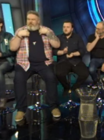 The size of Hodor compared to Sam