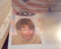 The State Department nailed my nephews passport