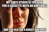 The struggles of owning an older car
