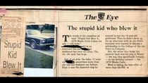 The stupid kid who blew it an article from  written by my Fathers mother when he was  They posted his  Monte Carlo for sale after he took a joyride to Miami without their permission