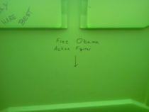 The things you find in a portable toilet