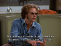 The three true branches of the government