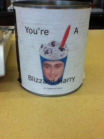 The tip jar at my local Dairy Queen
