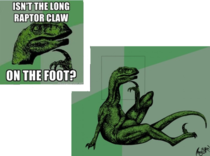 The truth about philosoraptor
