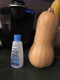 The two things my wife asked me to get from the store